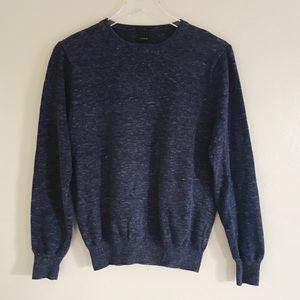 J.Crew Blue Crew Neck Sweatshirt Small